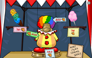Fall Fair 2010 First Great Puffle Circus Entrance Prize Booth