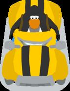 Yellow wheeler in-game