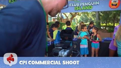 CPI Commercial Shoot - Behind the Scenes - Disney Club Penguin Island