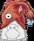Cabeza de Mullet icono