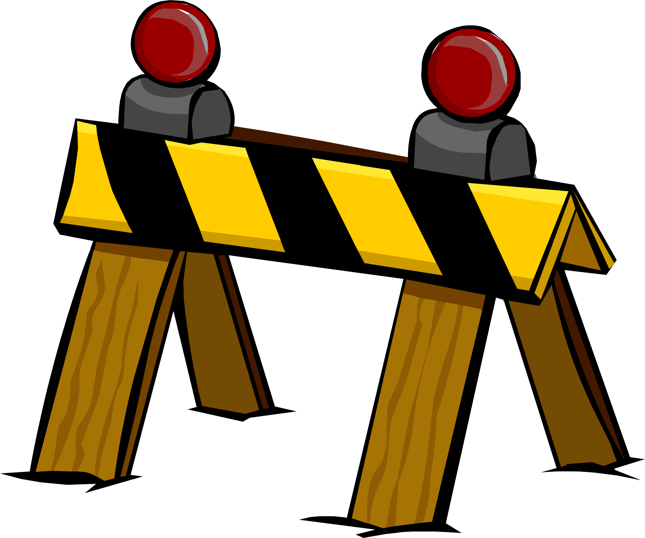 image construction barrier png club penguin wiki fandom