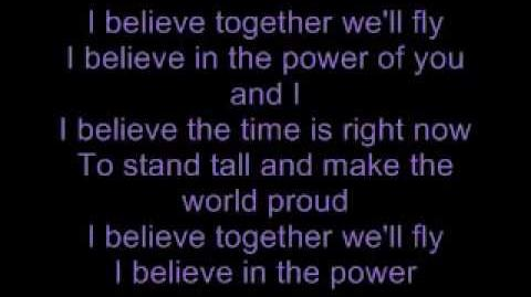 I Believe - Nikki Yanofsky Lyrics On Screen & Extended Version