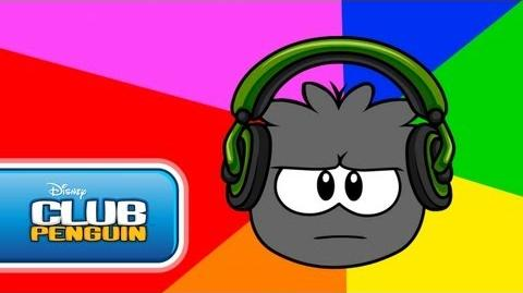 Dubstep Puffle Official Club Penguin