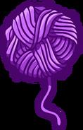 Emoticon Bola de Lana