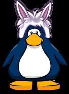 Gorro de Puffle Conejo tarjeta