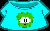 Green Pixel Puffle Tee icon