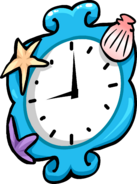 Mermaid Clock sprite 001