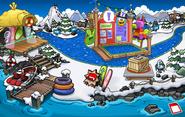 Muelle Fiesta de la Isla de Club Penguin