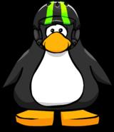 Neon Green Helmet PC