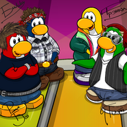 Penguin Band Background photo ru