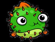 Puffer Fish Pin Logo