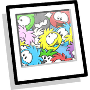 Puffle Collage inventory