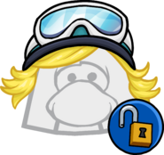 Blue Goggles unlockable icon