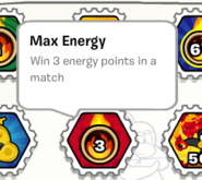 Max energy stamp book
