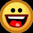 Old Laugh Emoticon