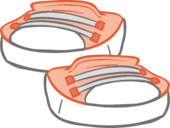 Peach Sneakers icon