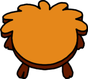 Rustic Puffle Table