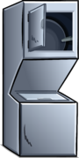 Stacking Washer and Dryer sprite 002