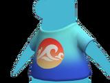 Camiseta Salpicadura Azul