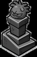 Columna de Puffle de Piedra