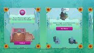 Frozen Fever Party 2016 app interface page 1