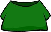 Green Shirt clothing icon ID 4059