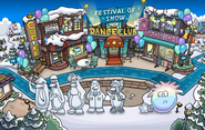 Festival of Snow 2015 Town