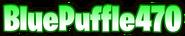 BluePuffle470 font