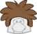 Brown Puffle Cap icon