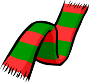 Christmas Scarf clothing icon ID 173