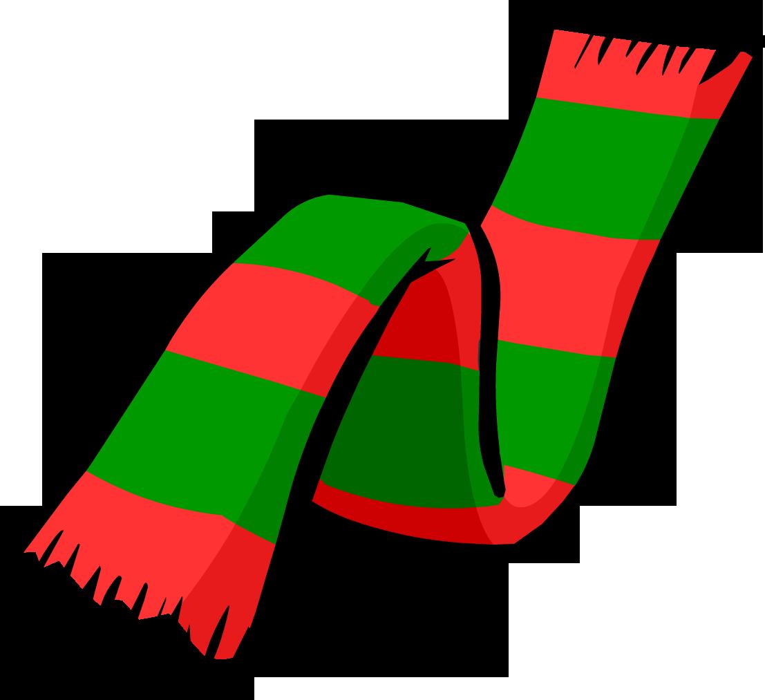 Christmas Scarf.Christmas Scarf Club Penguin Wiki Fandom Powered By Wikia