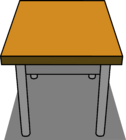 Classroom Desk sprite 007