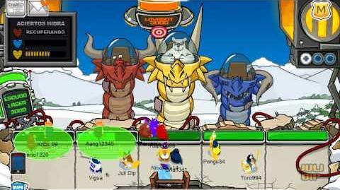 Club penguin batalla del fracaso ( derrotar a herbert )