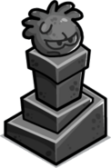 Columna de Puffle de Piedra1