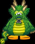 Dragón Ancestral Verde carta