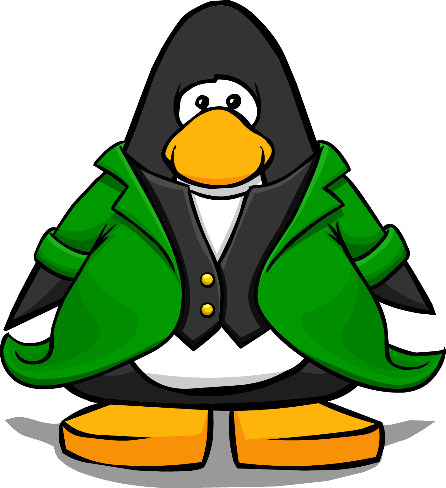 image leprechaun tuxedo from a player card png club penguin