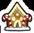 Pin Casa de Biscoito de Gengibre