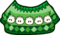 Sueter de Puffle verde