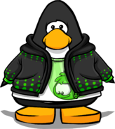 Flit Hoodie from a Player Card