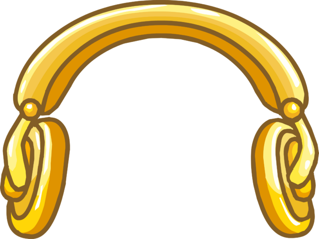 File:Golden Headphones.png