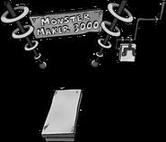 Monster Maker 3000 2008 2009 cutout
