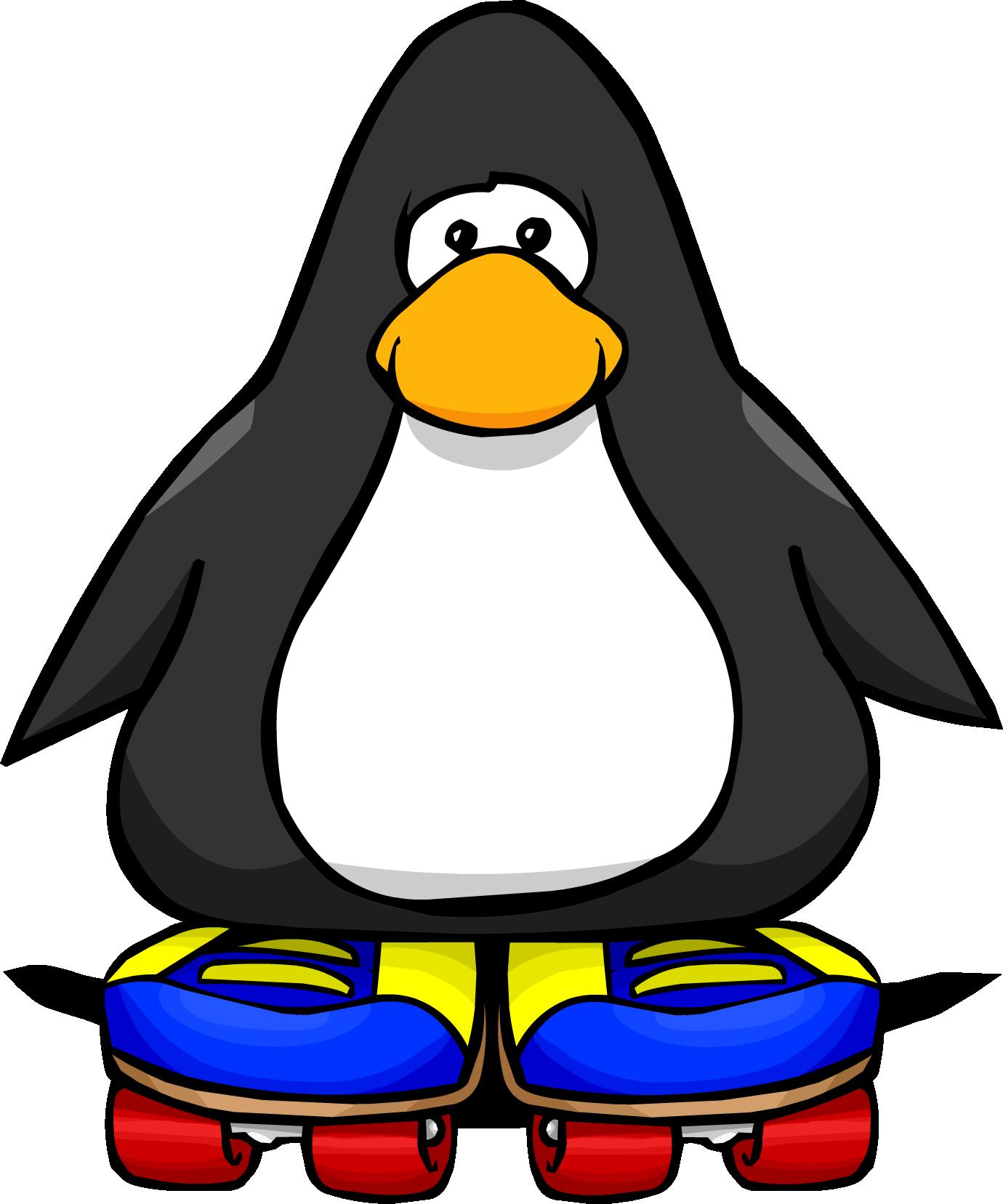 Image result for penguin on roller skates clip art