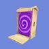 Caja Inusual Icono