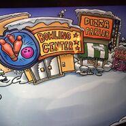 Concepto inicial Plaza Club Penguin