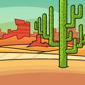 Desert Plane Background