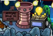 Generador de la cueva de la mina
