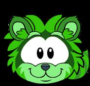 Puffle Mapache Verde Igloo