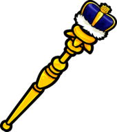 Royal Blue Scepter