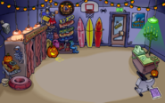 Deportes en la fiesta de hallowen