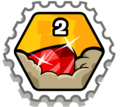 El poder de la gema (transparente)